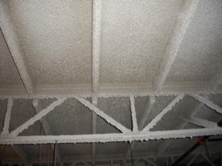 Ignifugaciones lana de roca pintura intumescente for Top rated ceiling paint